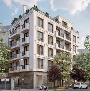 Нов проект - луксозна сграда в центъра на Варна