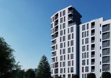 Нова сграда в комуникативен район на Варна