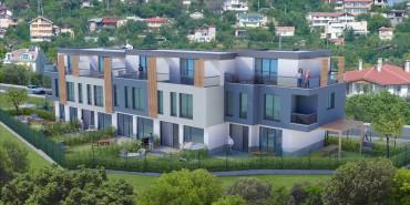 Нов проект от къщи в общ комплекс в м-т Горна Трака